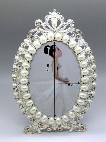 tomsaland bilderrahmen mit perlen oval tomsaland einkaufsland. Black Bedroom Furniture Sets. Home Design Ideas