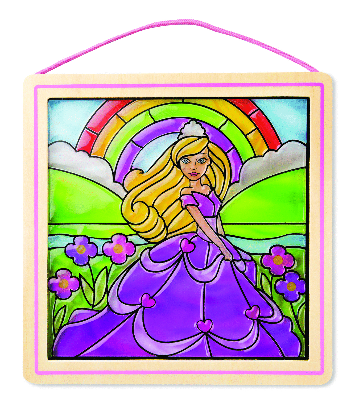9435-StainedGlassMadeEasy-Princess-Deco