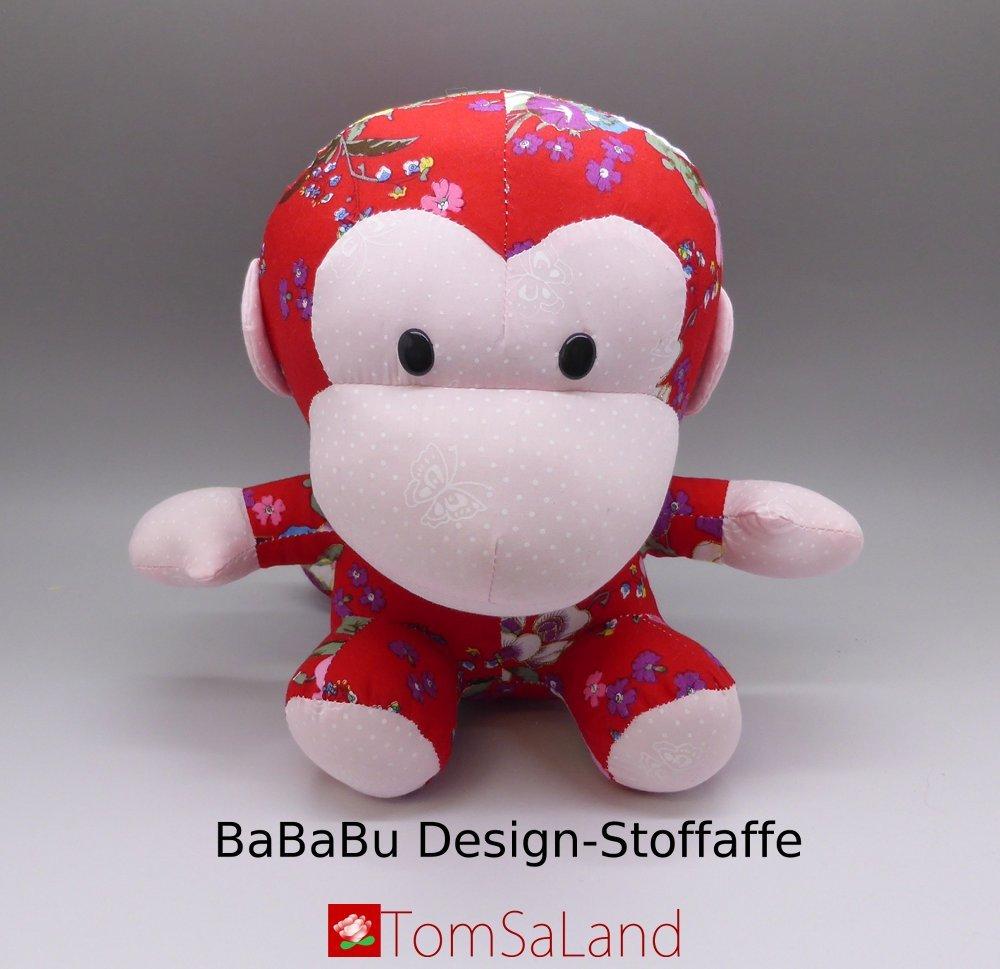 BaBaBu_Design-Stoffaffe_Vorderansicht_mit_logo