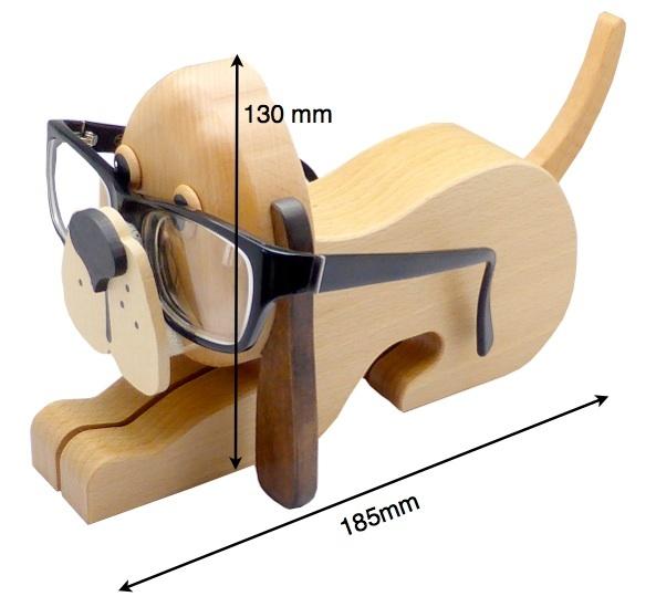 Masse_Brillenstander_Hund