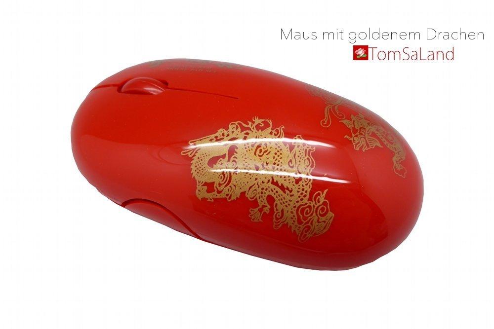 Maus_mit_golden_Drachenmuster_Seitenansicht_mit_logo