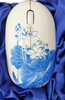 Wireless Mouse with lotus flower design