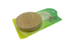 Wooden Round Coaster Set in Bamboo