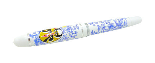 Ballpen with the design of Porcelain (Peking Opera Pattern)