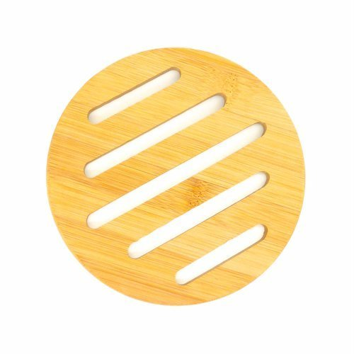 Bamboo-Wooden Pod Coaster (round)