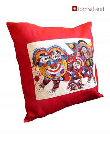 cushion cover - red