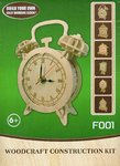"Classic Clock woodcraft construction kit ""alarm clock"""