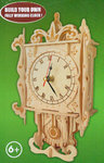 "Classic Clock woodcraft construction kit ""Wall Clock """