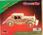 "Classic toy woodcraft construction kit ""Vintage car typ VI"""