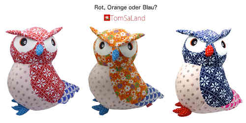 "BaBaBu Kult-Figuren ""Eule"" (orange)"