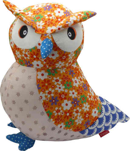 BaBaBu Cult figure Owl (orange)