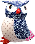 BaBaBu Cult figure Owl (blue)