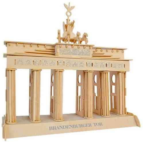 "Classic toy woodcraft construction kit ""Brandenburg Gate"""