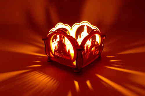 Kit Tea Light Holder, Motif: Frauenkirche