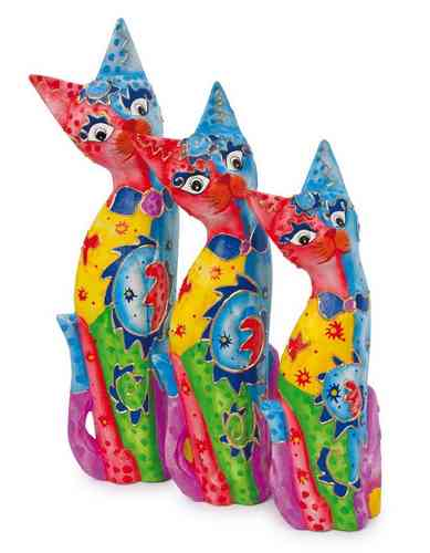 Deco Cats Family, Set of 3