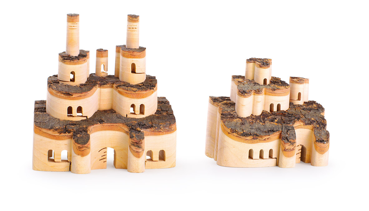 Castle of Wood, Set of 2