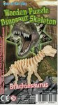 "Classic toy woodcraft construction kit ""Dinosaur Brachiosaurus"""
