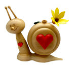 Sunny Smoke Snail with Heart design