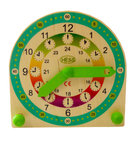 Wooden Children learning clock