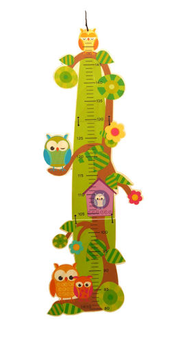 Child height measurement owl